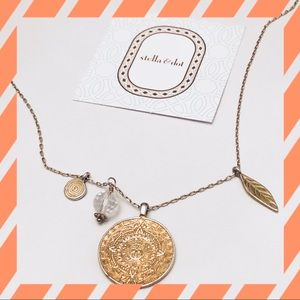 Stella & Dot 4 Pendant Necklace
